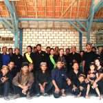 Pertemuan sedulur Sikep menyambut bulan Suro di Dk. Kembang Ds. Jurangjero Kec. Bogorejo Kab. Blora Jawa Tengah, Selasa (13/8/2019)